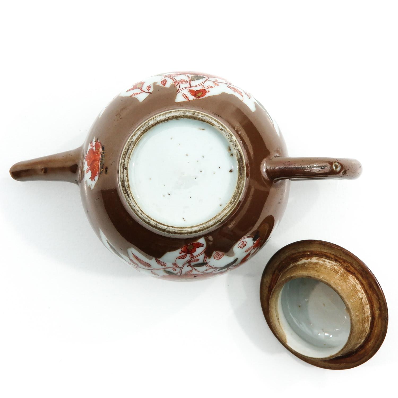 A Batavianware Teapot - Image 6 of 9