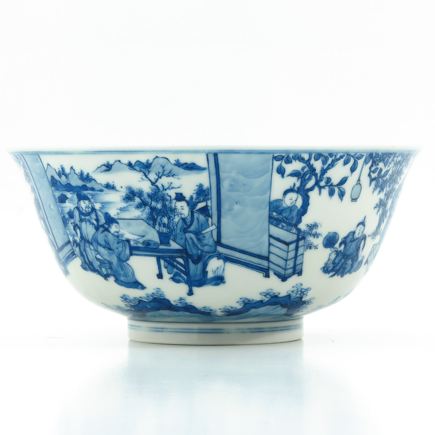 A Blue and White Bowl - Image 4 of 10
