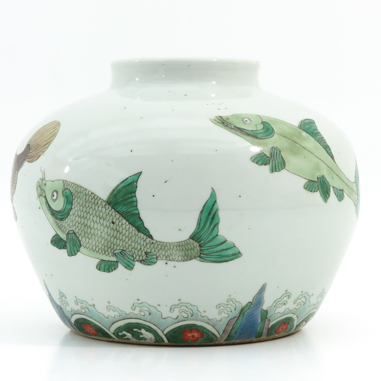 A Polychrome Jar - Image 3 of 9