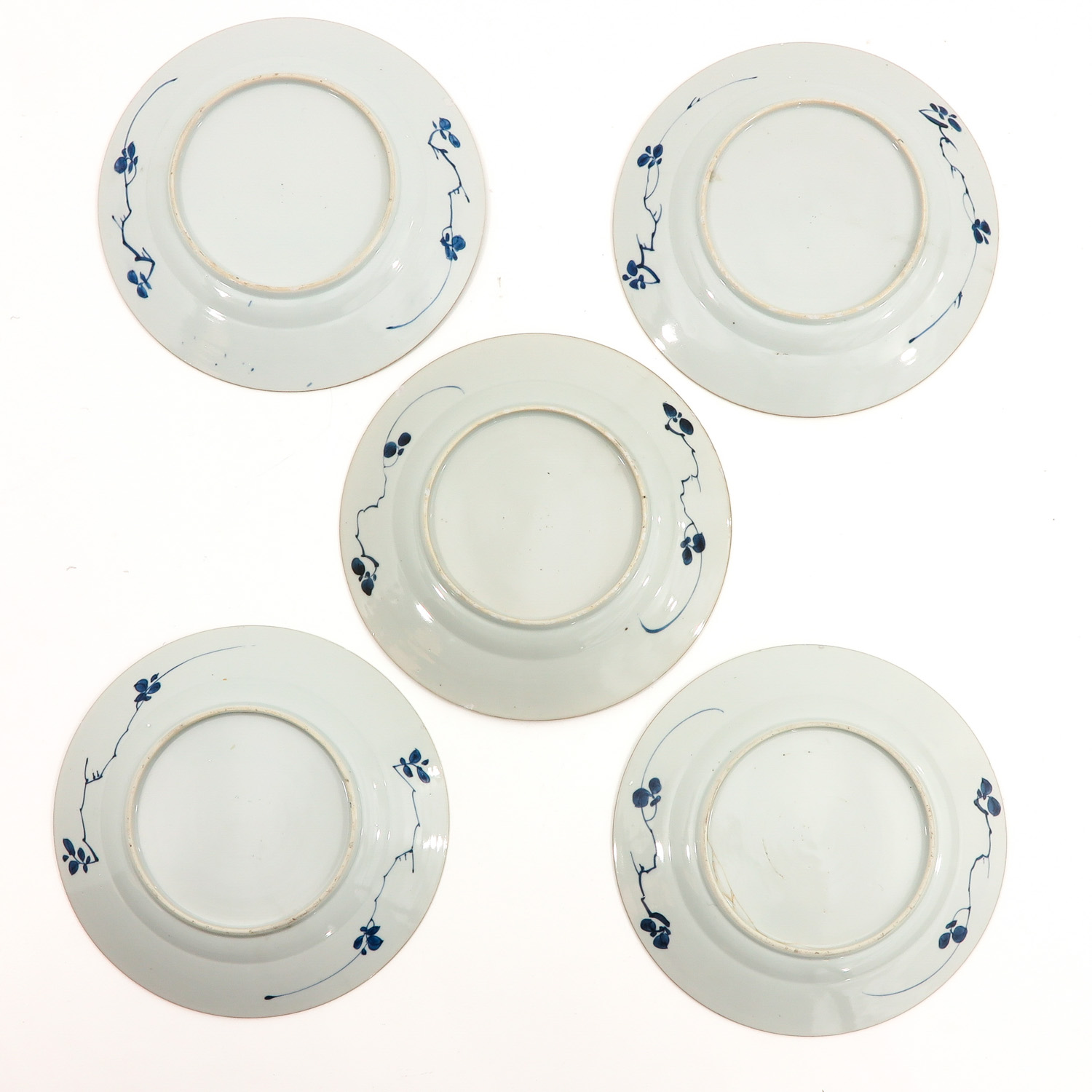A Series of 5 Blue and White Plates - Image 2 of 10