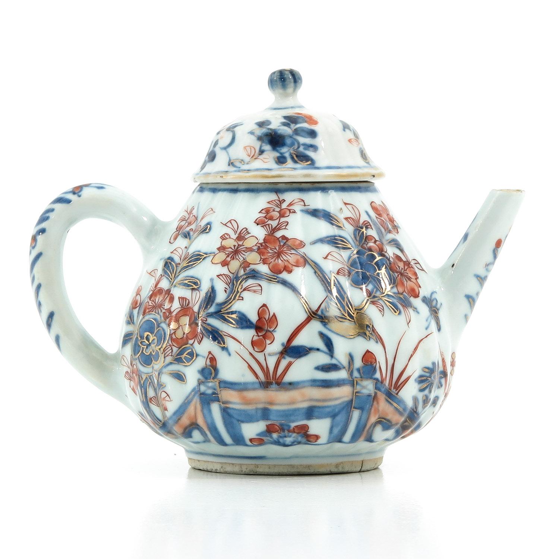 An Imari Teapot - Image 3 of 9