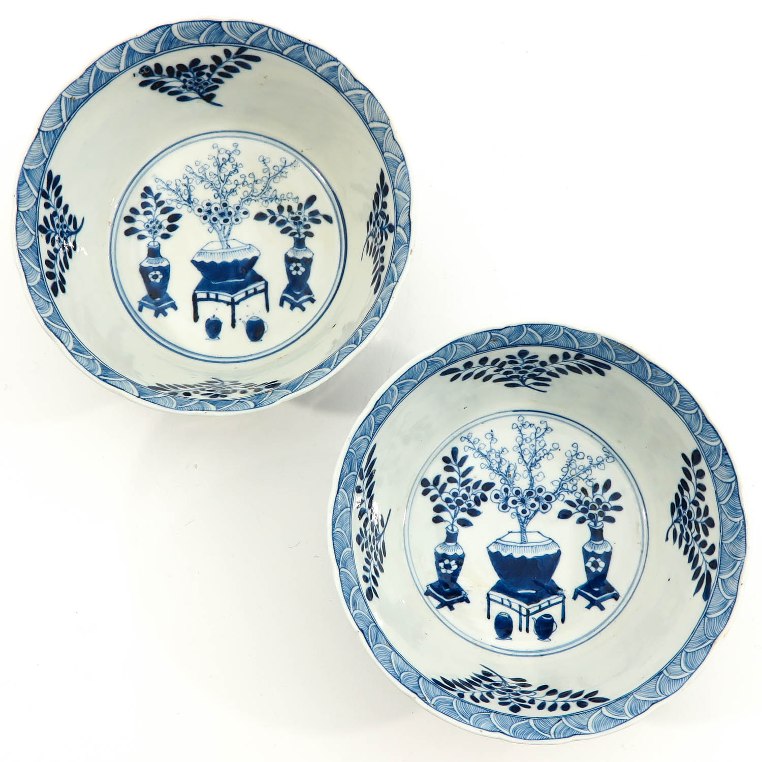 A Pair of Blue and White Bowls - Image 5 of 10