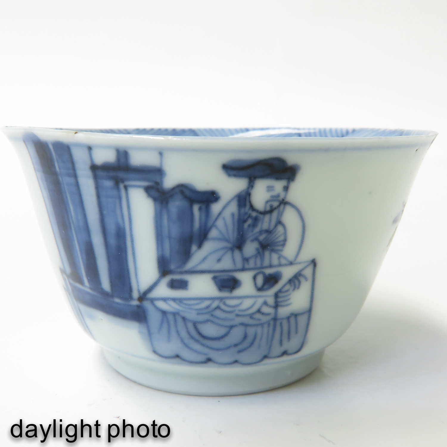 A Collection of 10 Blue and White Cups - Image 10 of 10