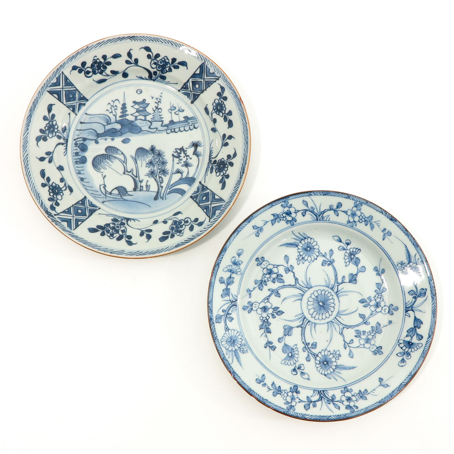 A Series of 6 Blue and White Plates - Image 3 of 10