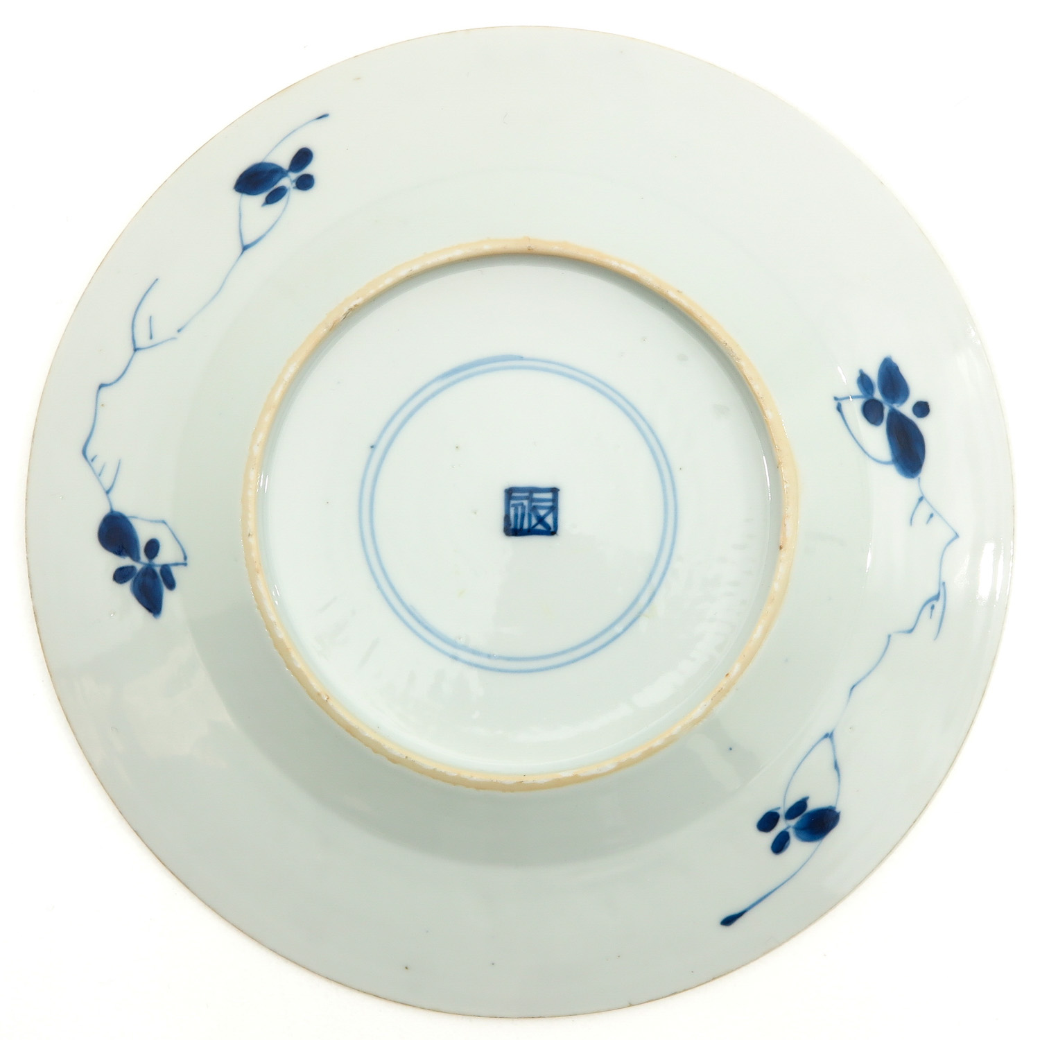 A Lot of 3 Blue and White Plates - Image 8 of 10