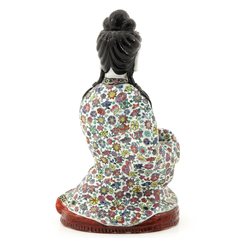 A Quanyin Sculpture - Image 3 of 10