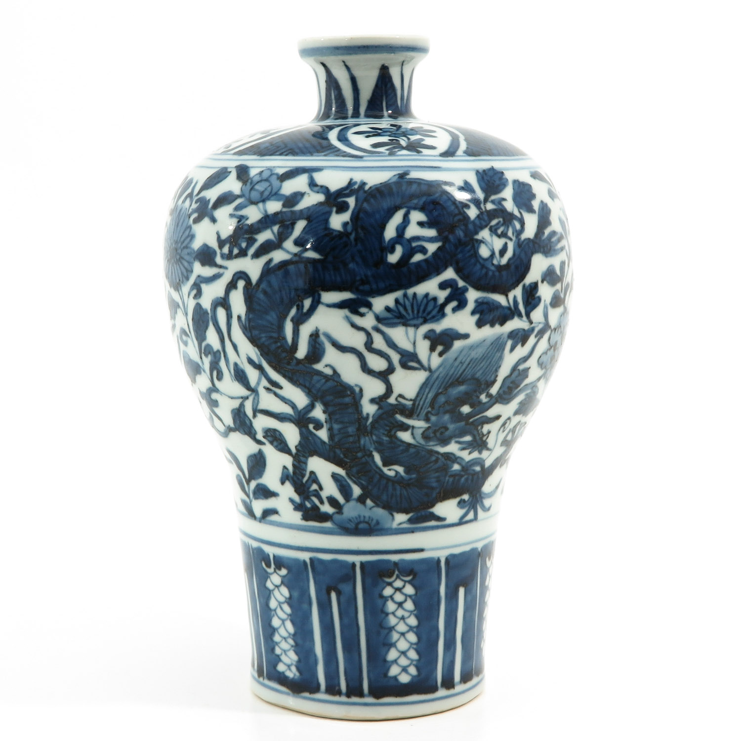 A Blue and White Meiping Vase - Image 3 of 10