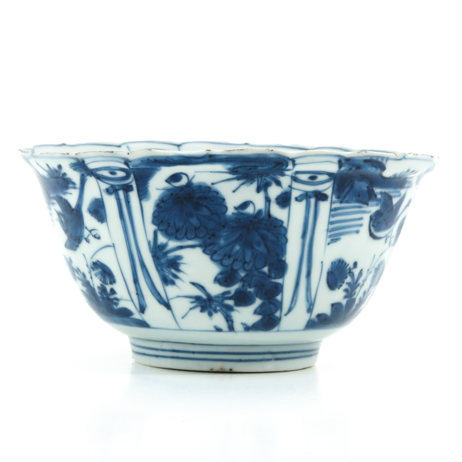 A Blue and White Wanli Bowl