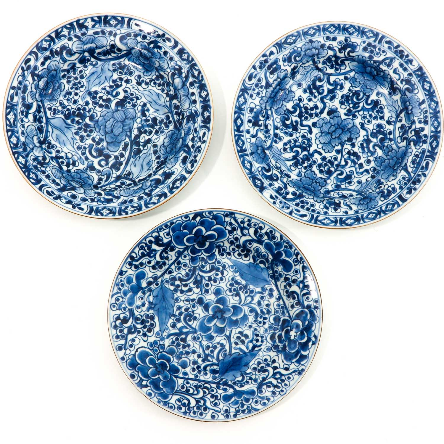 A Series of 5 Blue and White Plates - Image 3 of 10