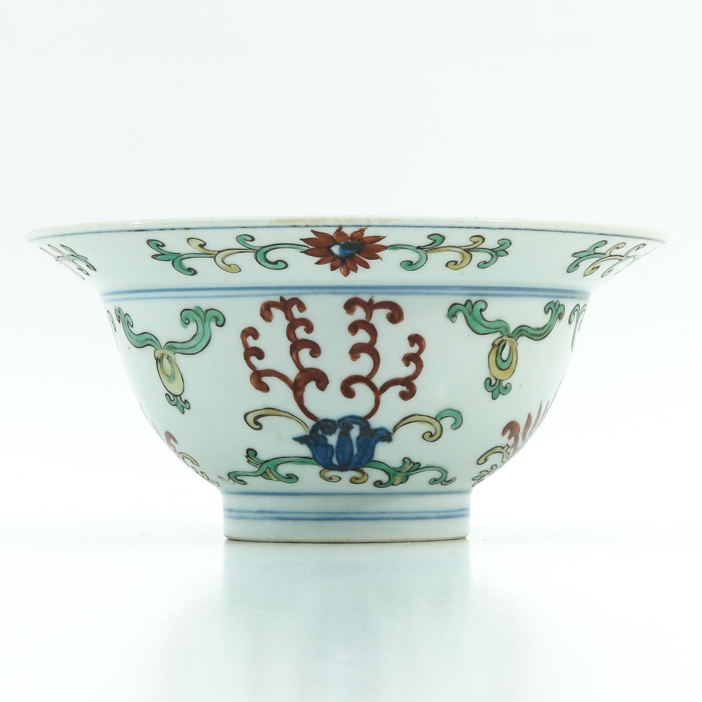 A Polychrome Decor Bowl - Image 2 of 9