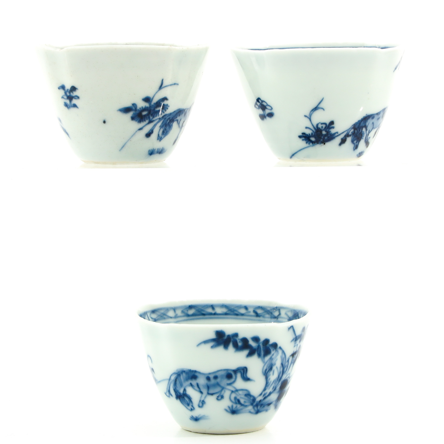 A Collection of 3 Cups and Saucers - Image 4 of 9