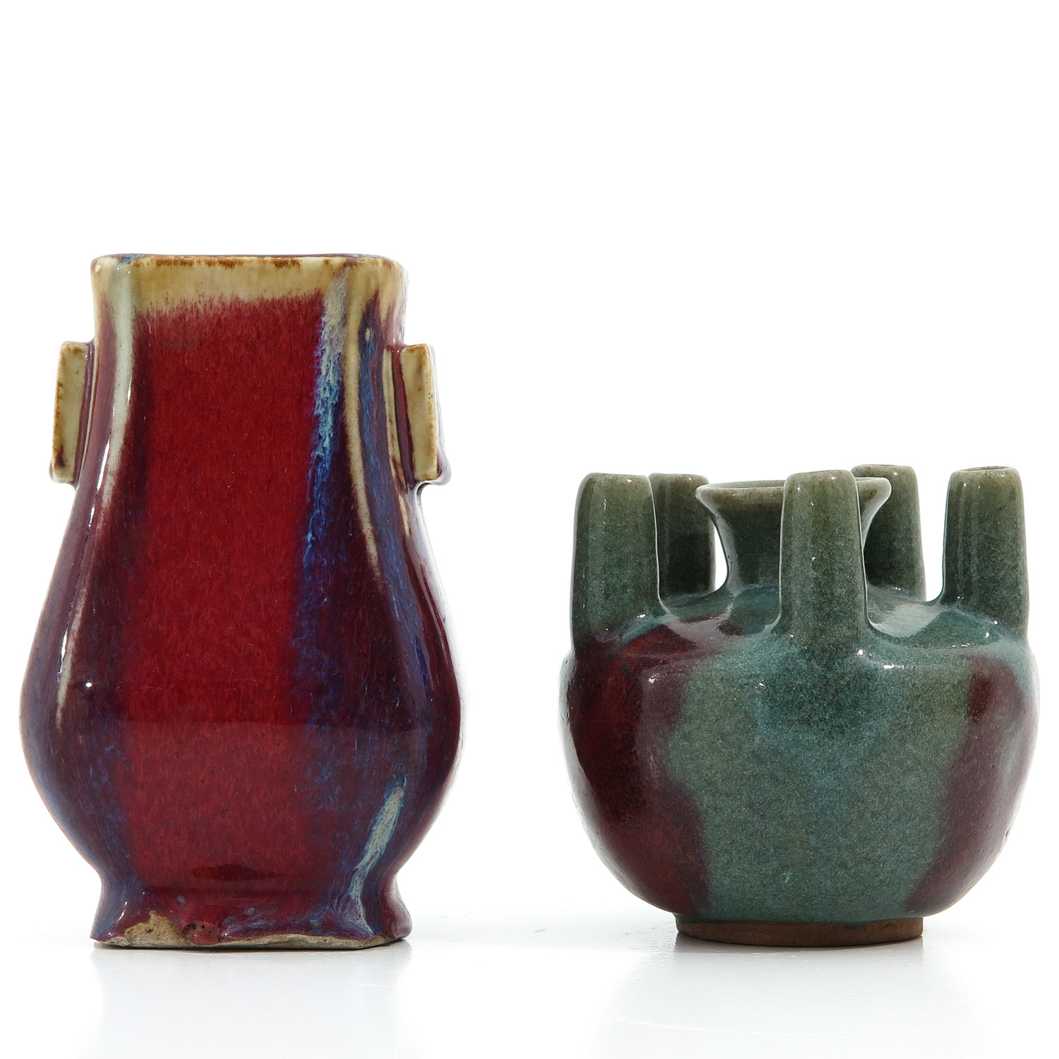 2 Chinese Vases - Image 3 of 10