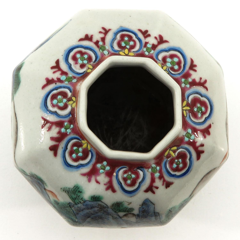 A Polychrome Vase - Image 5 of 9