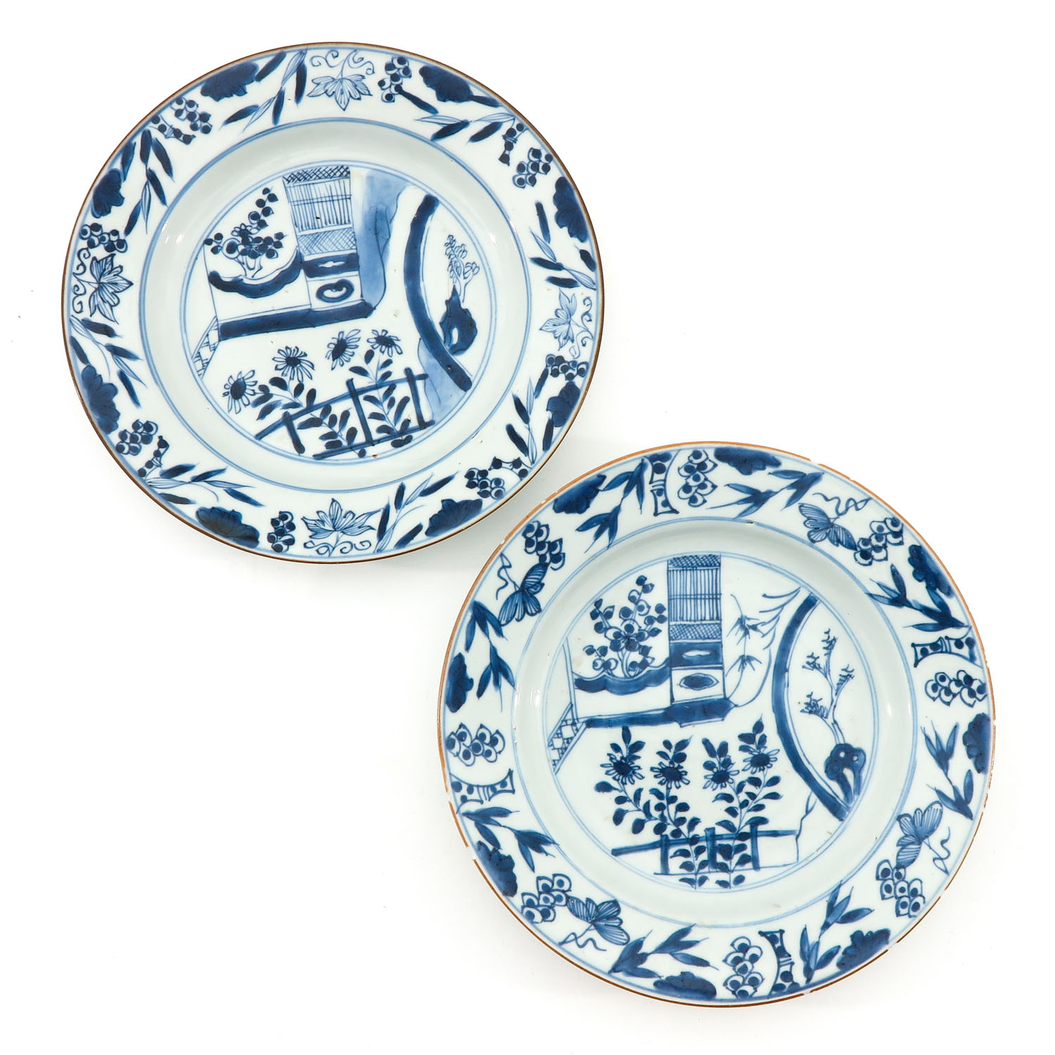 A Series of 6 Blue and White Plates - Image 5 of 10