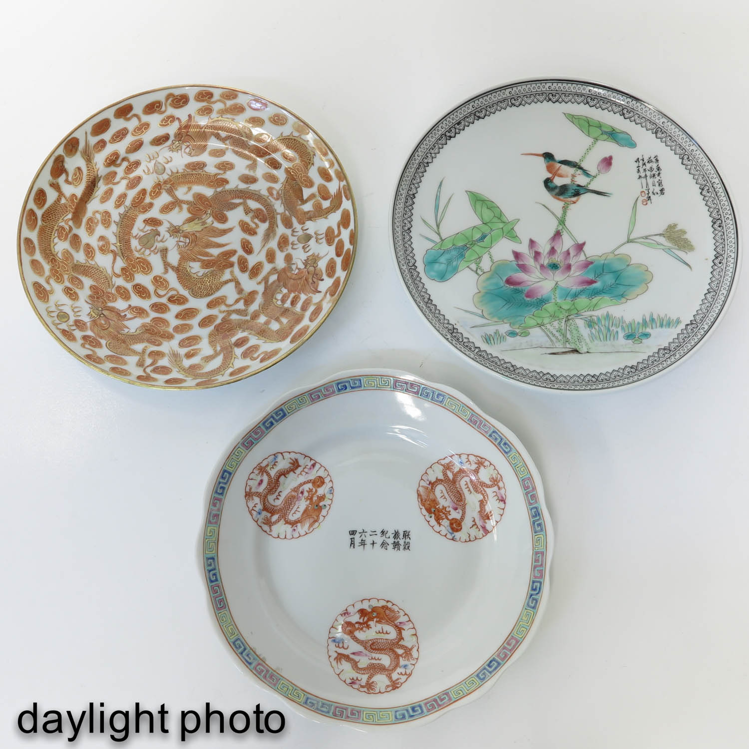A Collection of 3 Plates - Image 9 of 10