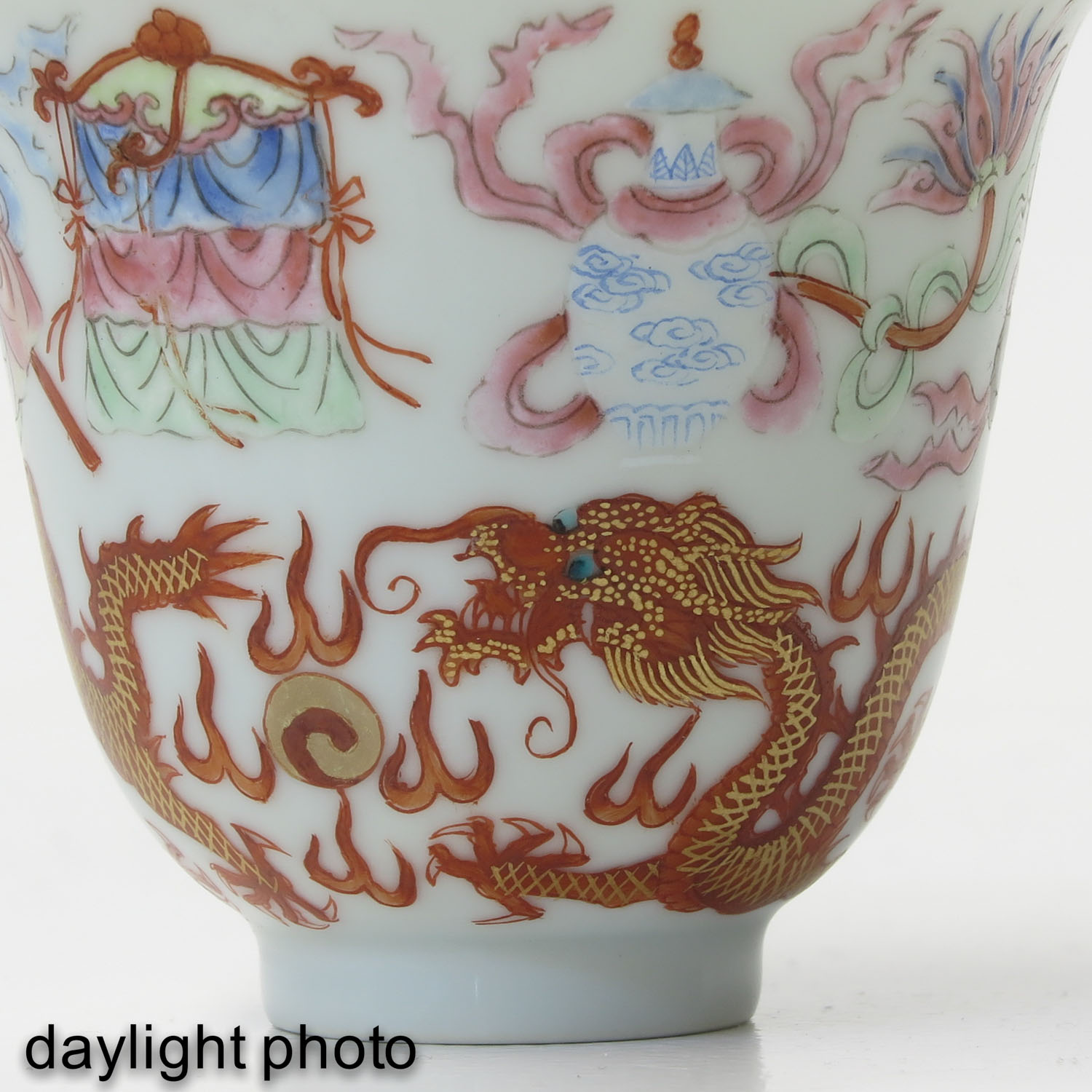 A Pair of Famille Rose Cups - Image 10 of 10
