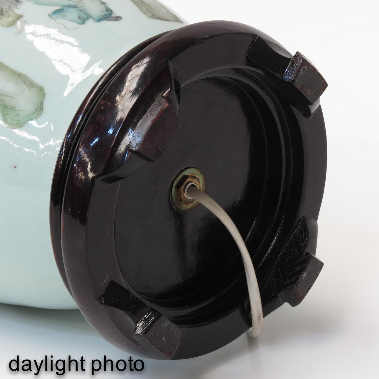 A Polychrome Decor Lamp - Image 8 of 10