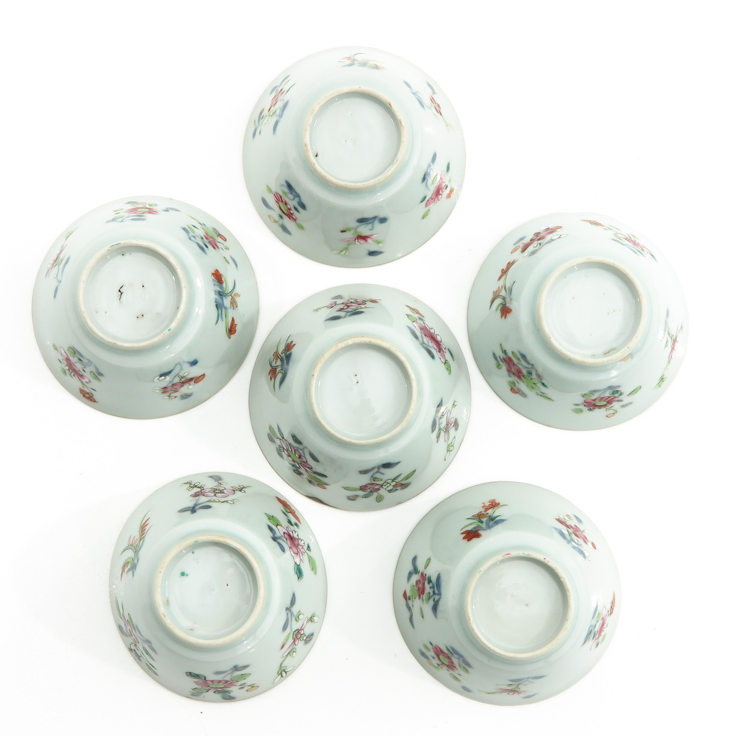 A Set of 6 Cups and Saucers - Image 6 of 10