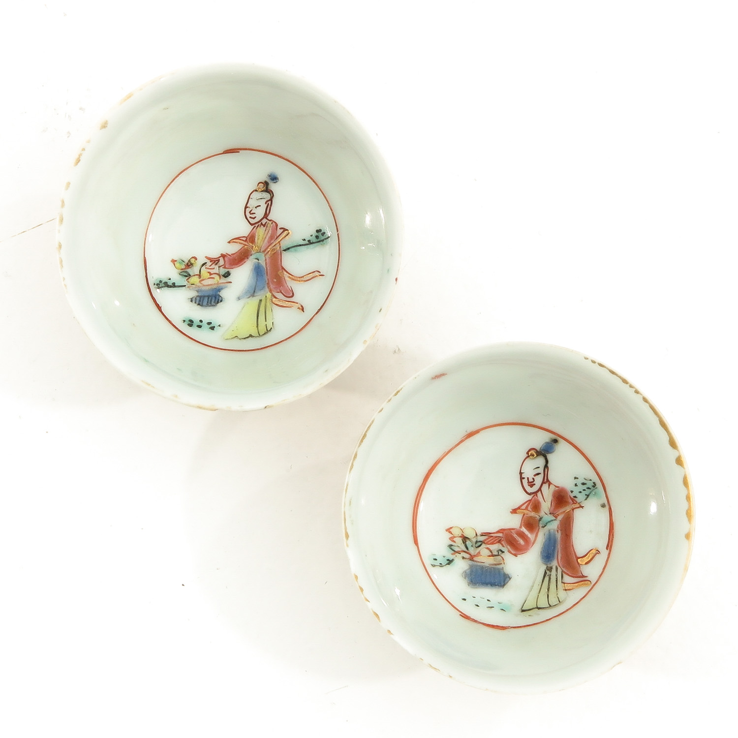 A Set of 2 Cups and Saucers - Image 5 of 10