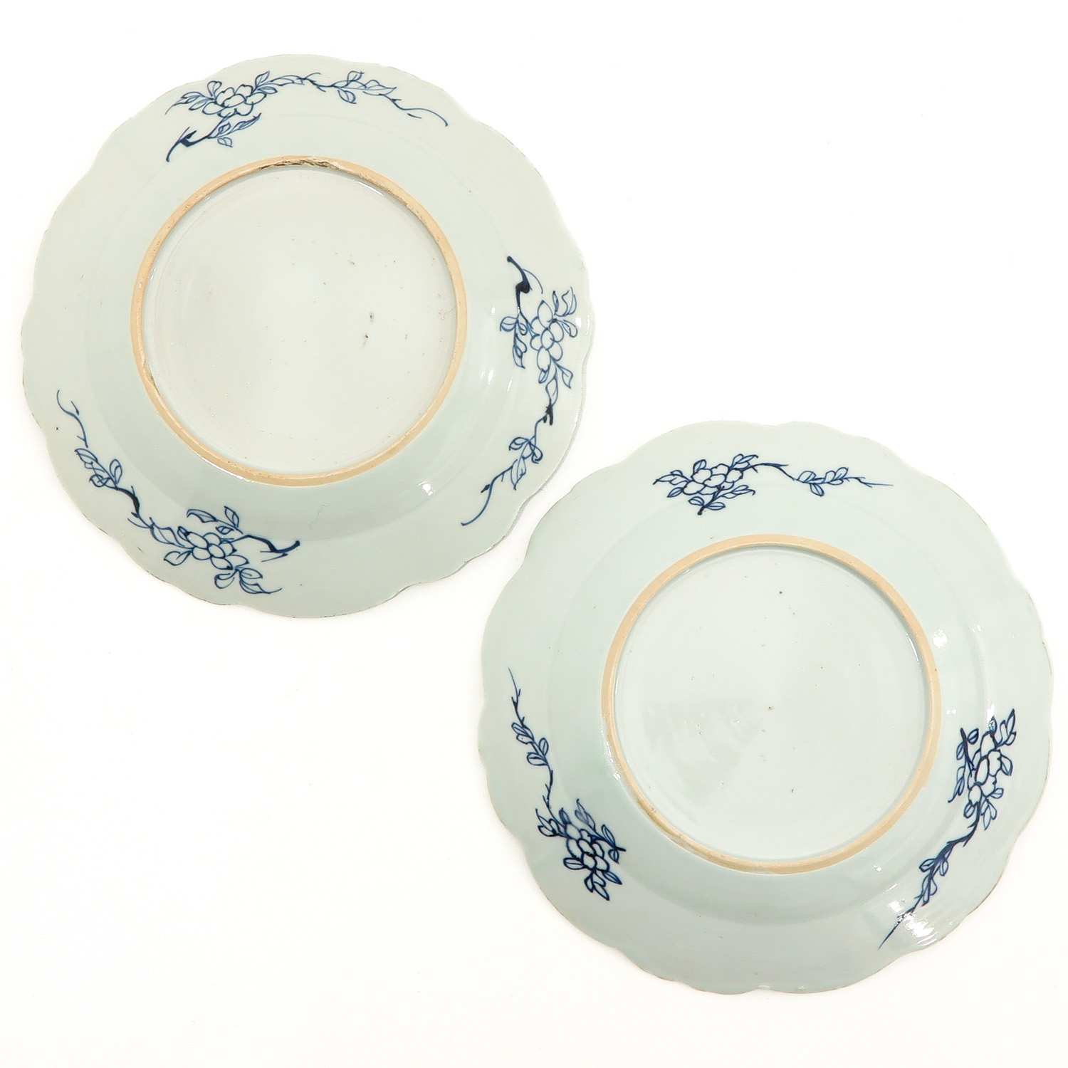 A Set of 6 Blue and White Plates - Image 4 of 10