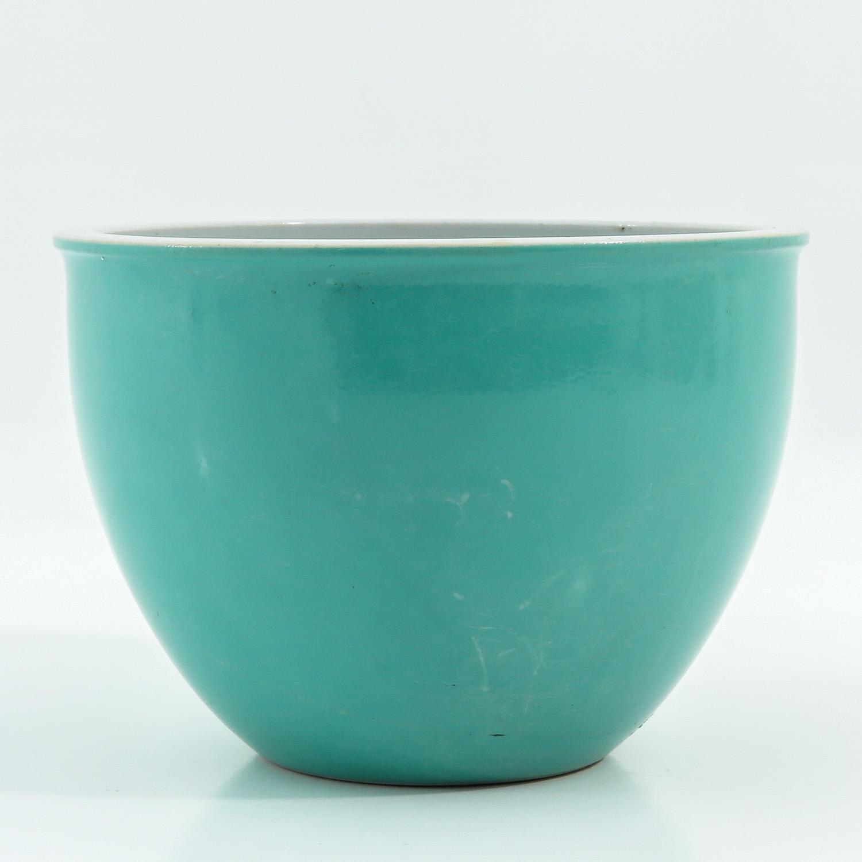 A Celadon Cache Pot