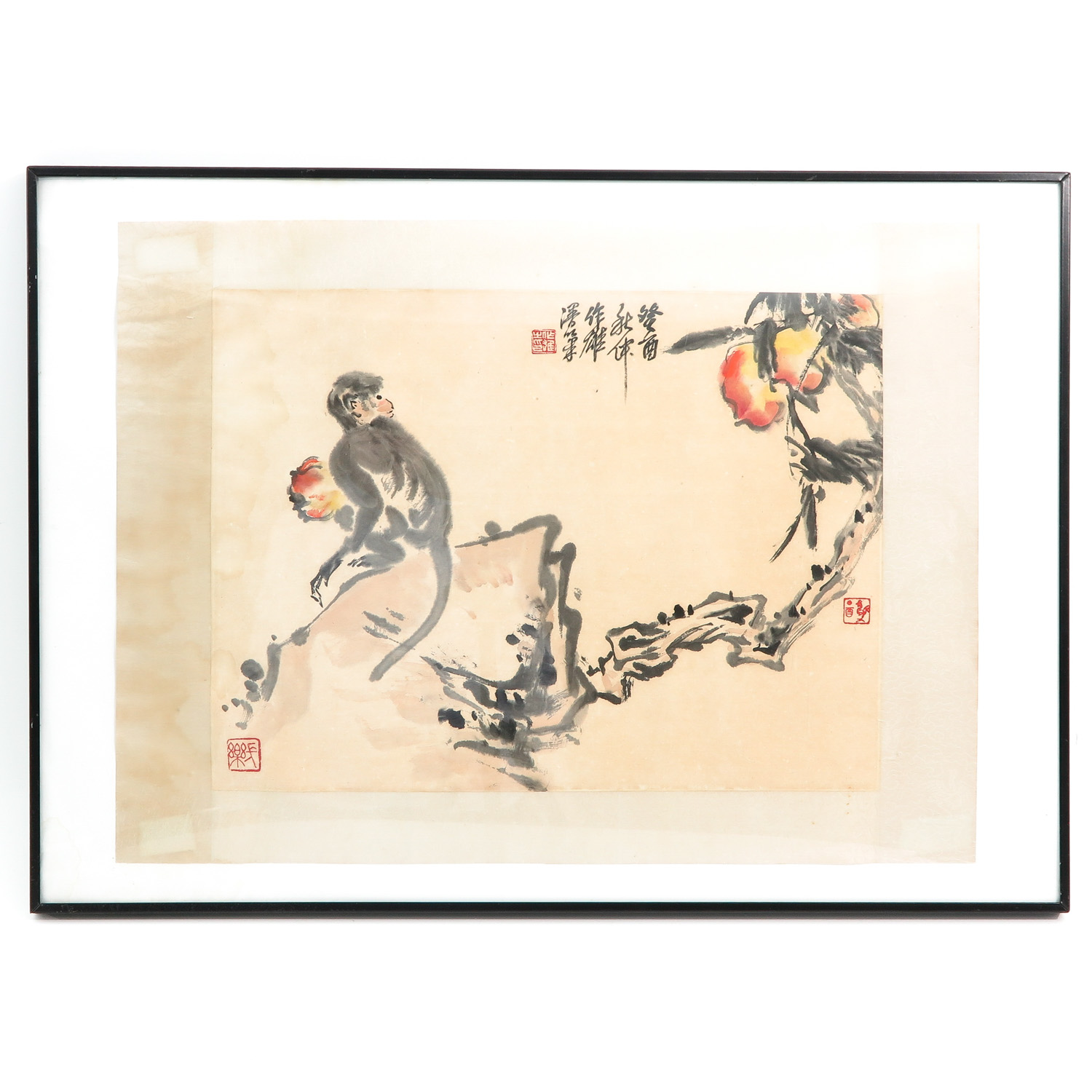 A Chinese Framed Work of Art
