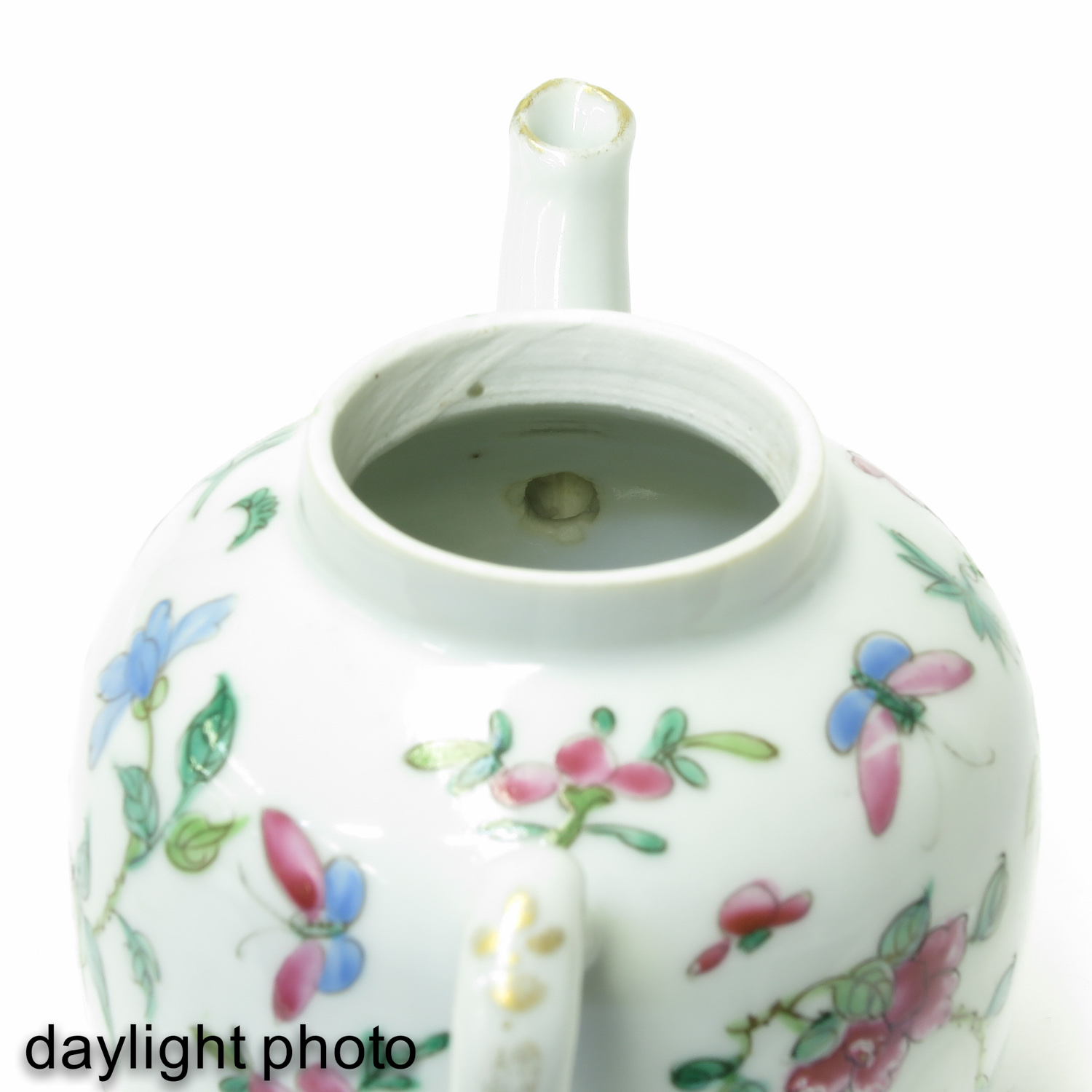 A Famille Rose Teapot - Image 9 of 9