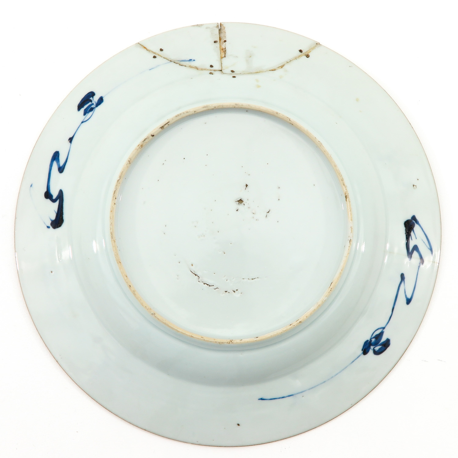 A Pair of Blue and White Plates - Image 4 of 10