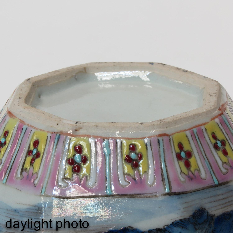 A Polychrome Vase - Image 8 of 9