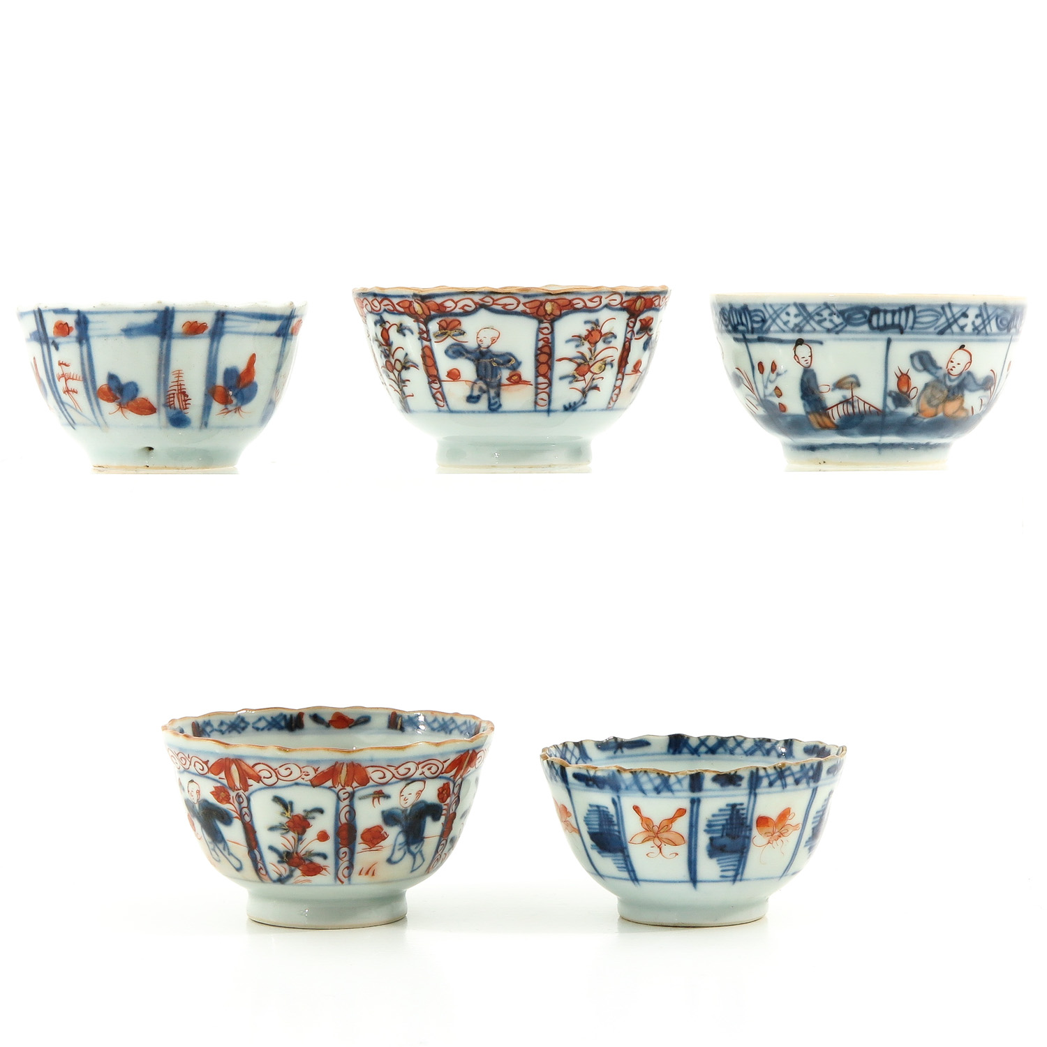 A Lot of 5 Cups and Saucers - Image 2 of 10