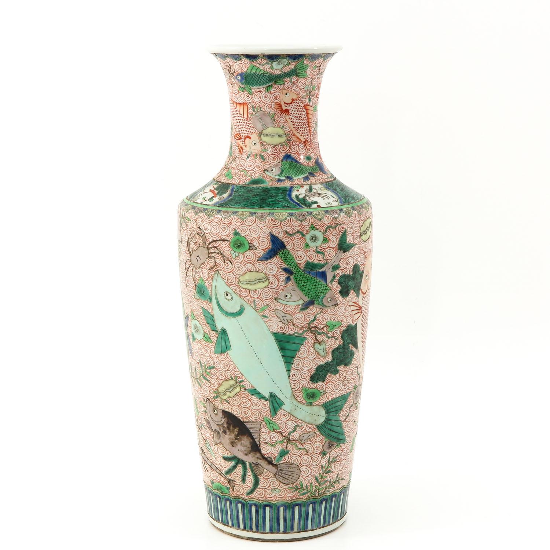 A Polychrome Vase - Image 3 of 10