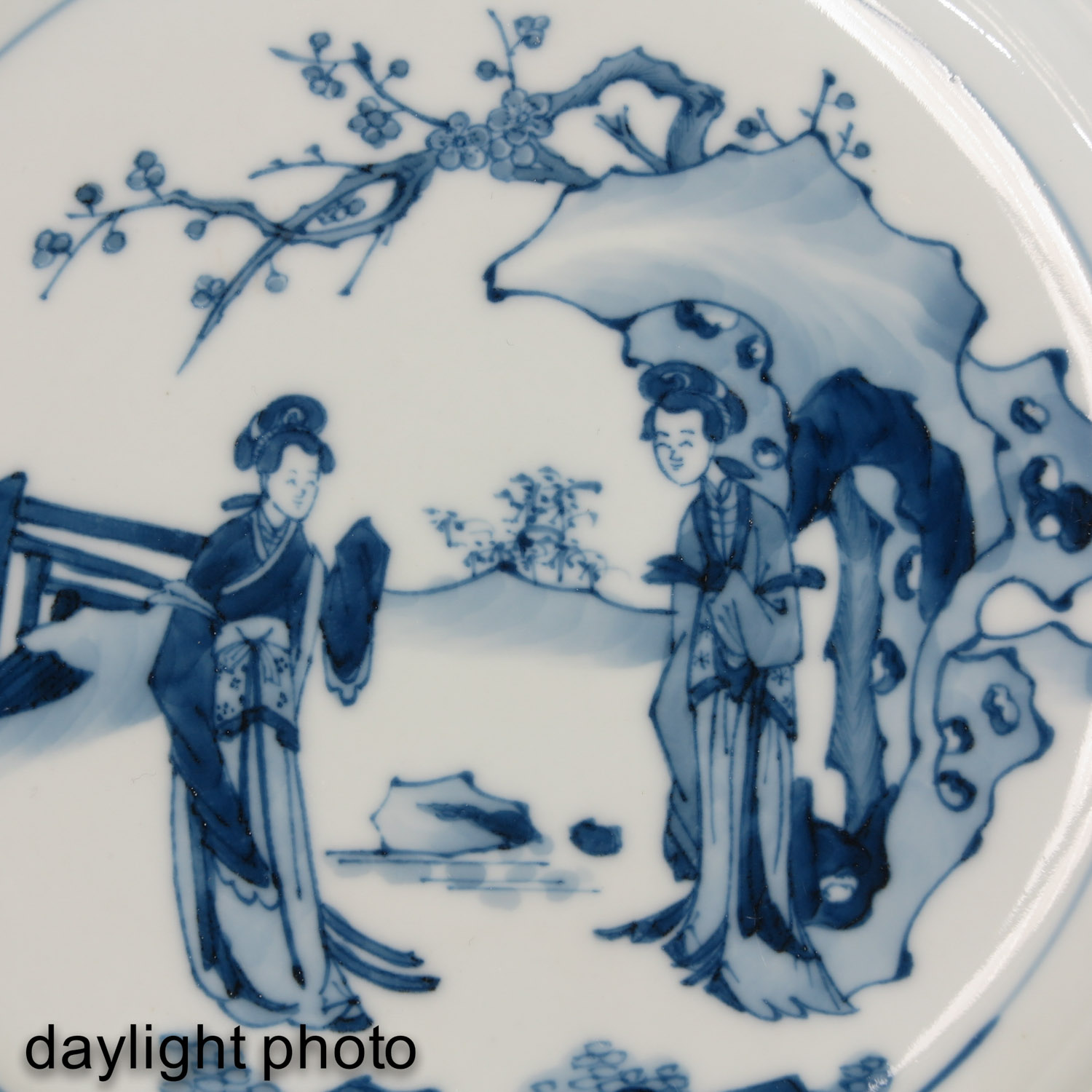 A Blue and White Plate - Image 6 of 6