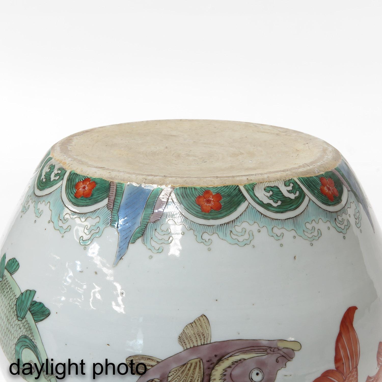 A Polychrome Jar - Image 8 of 9