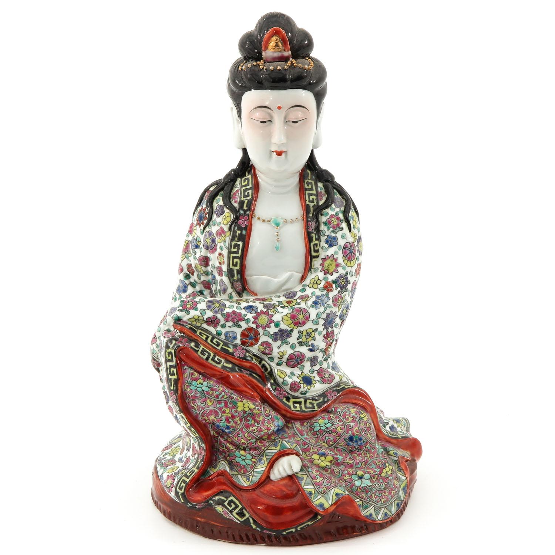 A Quanyin Sculpture