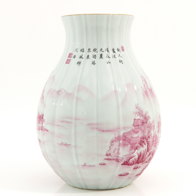 A Landscape Decor Vase - Image 3 of 10