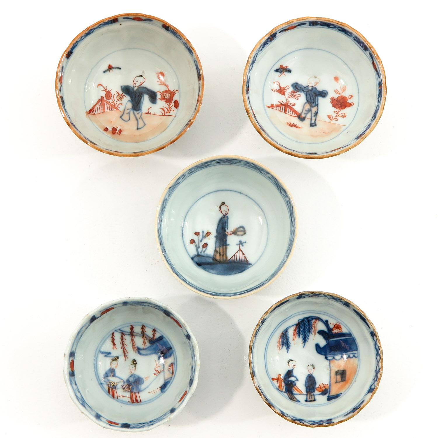 A Lot of 5 Cups and Saucers - Image 5 of 10