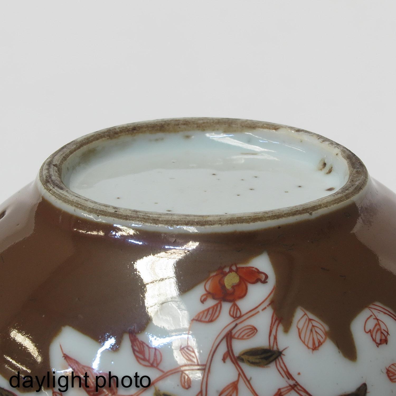 A Batavianware Teapot - Image 8 of 9