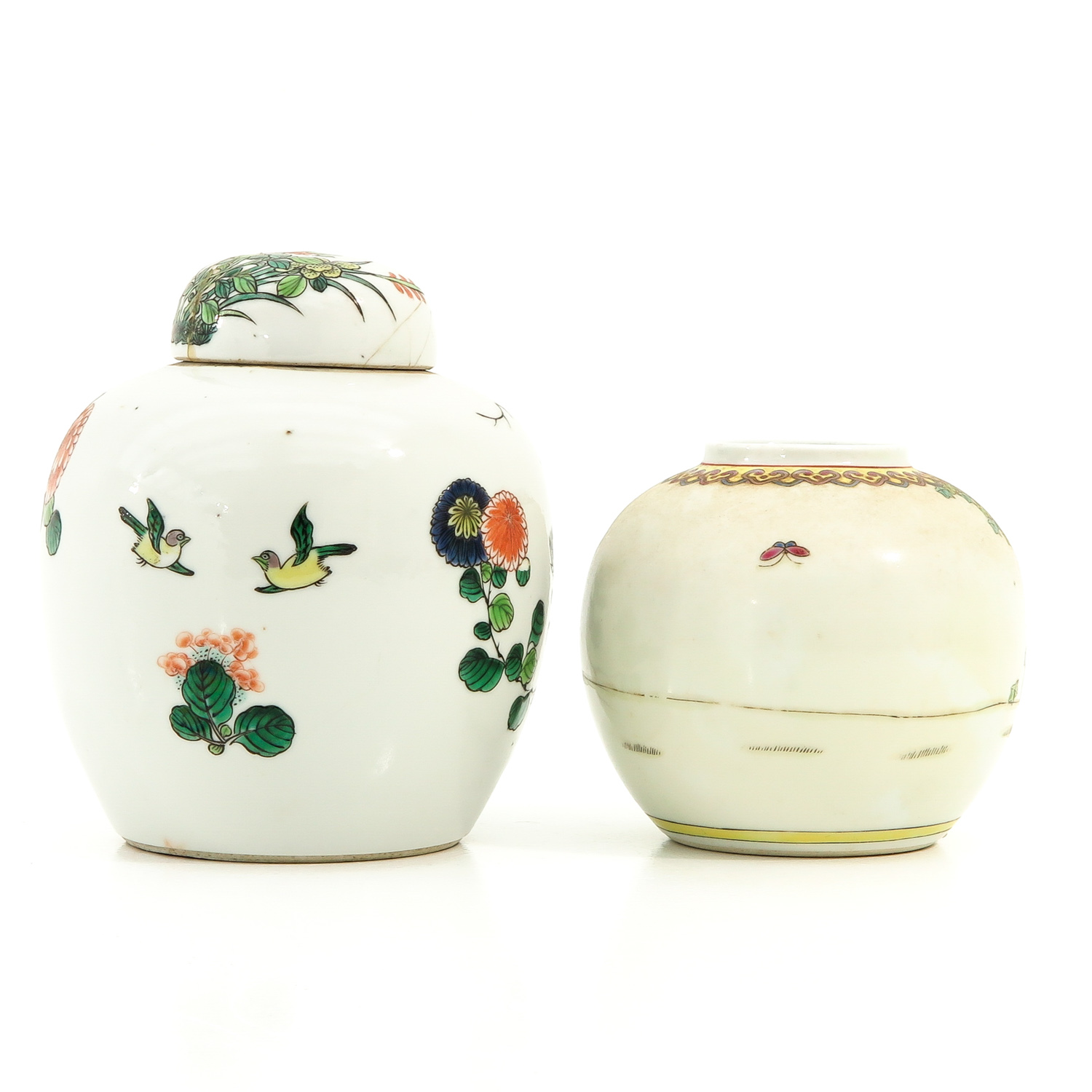 A Lot of 2 Ginger Jars - Image 3 of 9