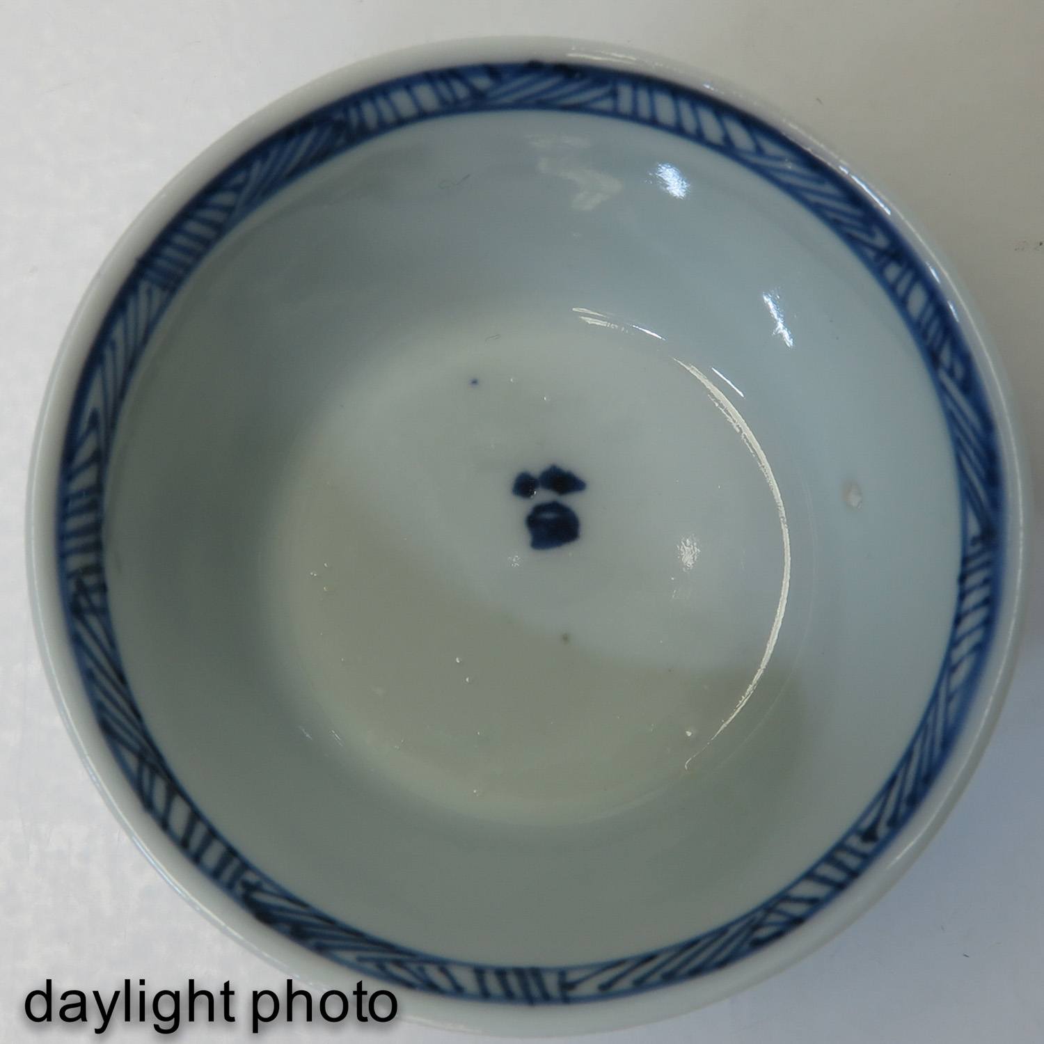 A Series of 6 Blue and White Cups - Image 9 of 9
