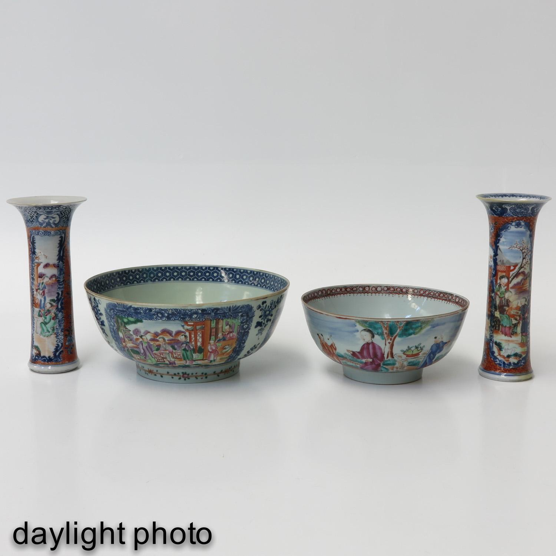 A Lot of 2 Mandarin Decor Bowls - Image 7 of 10