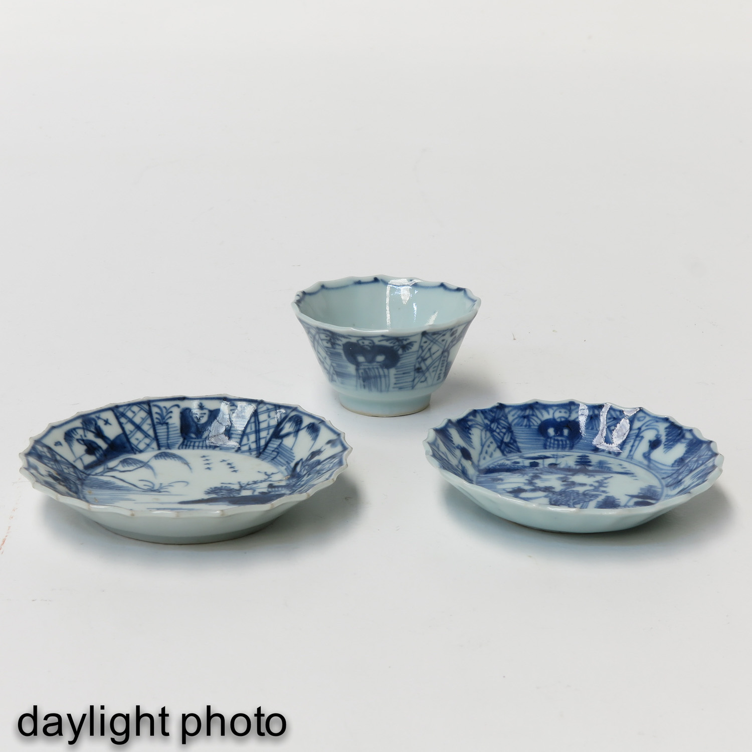A Collection of 5 Cups and Saucers - Image 9 of 10