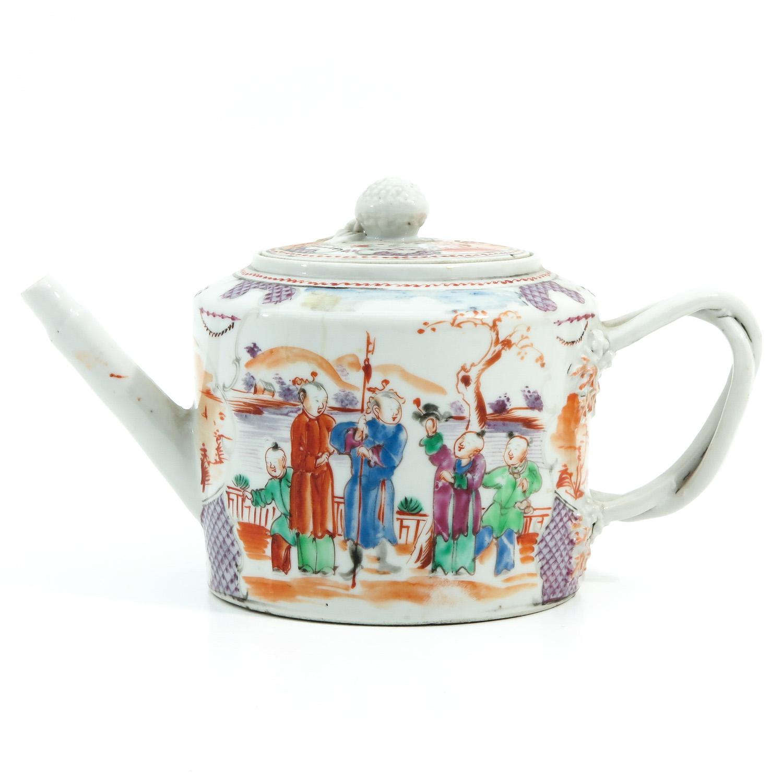 A Mandarin Decor Teapot