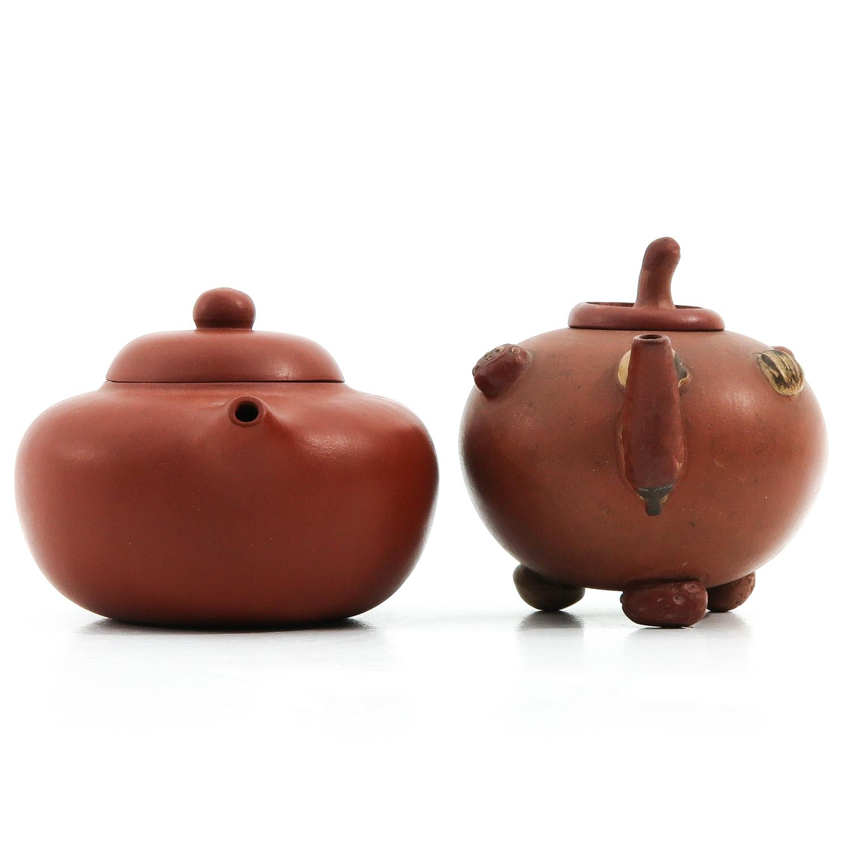 2 Yixing Teapots - Image 4 of 9