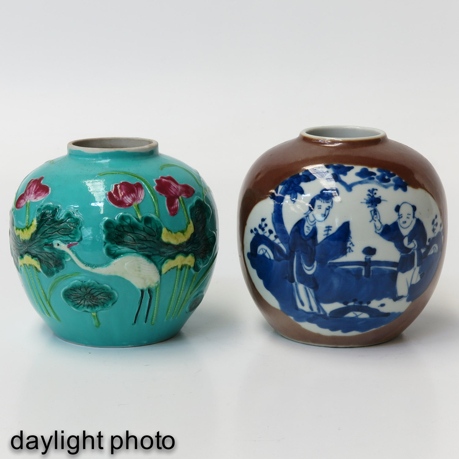 A Lot of 2 Ginger Jars - Image 7 of 10
