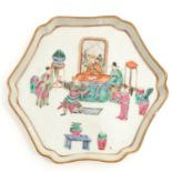 A Famille Rose Tray
