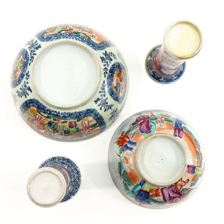 A Lot of 2 Mandarin Decor Bowls - Image 6 of 10