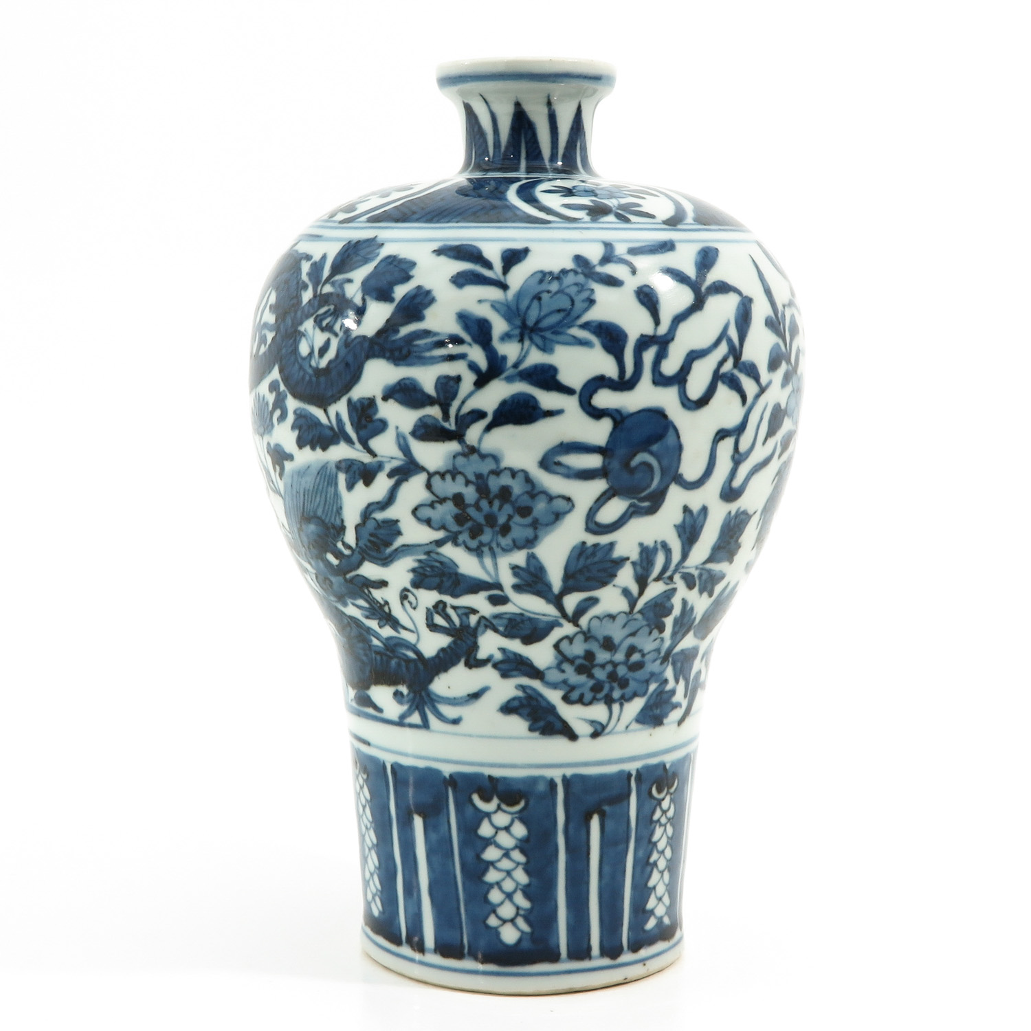 A Blue and White Meiping Vase - Image 4 of 10
