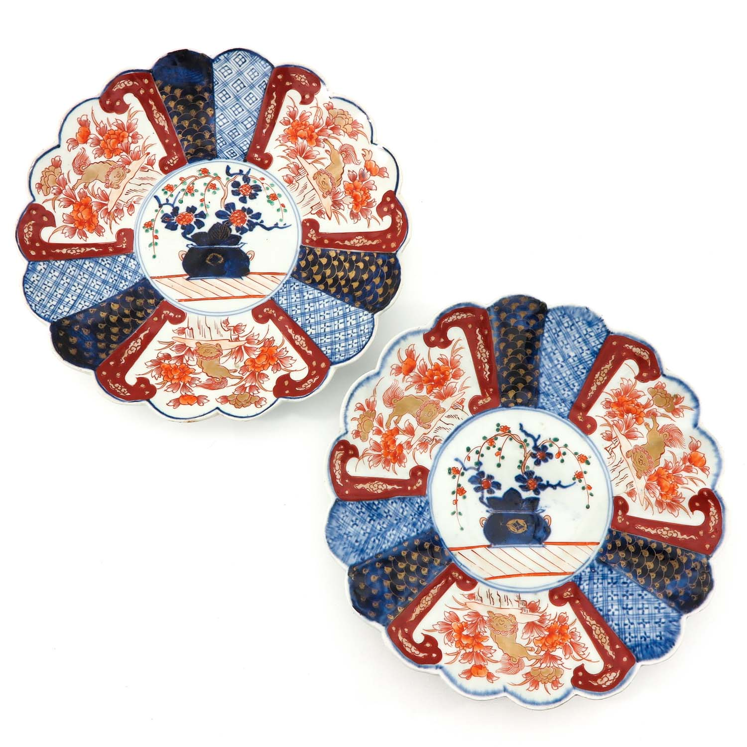 A Collection of 4 Imari Plates - Image 3 of 10
