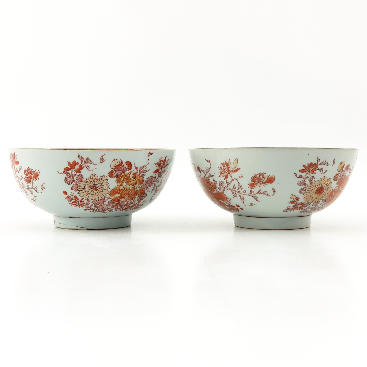 A Pair of Milk and Blood Decor Bowls - Image 2 of 9