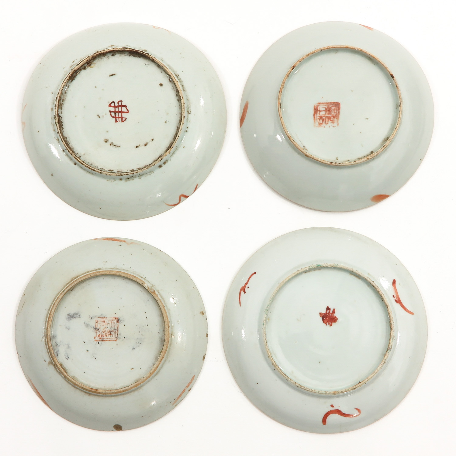 A Collection of 10 Polychrome Decor Plates - Image 4 of 10